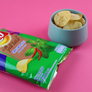 LAY'S SWEET BASIL FLAVOR POTATO CHIPS