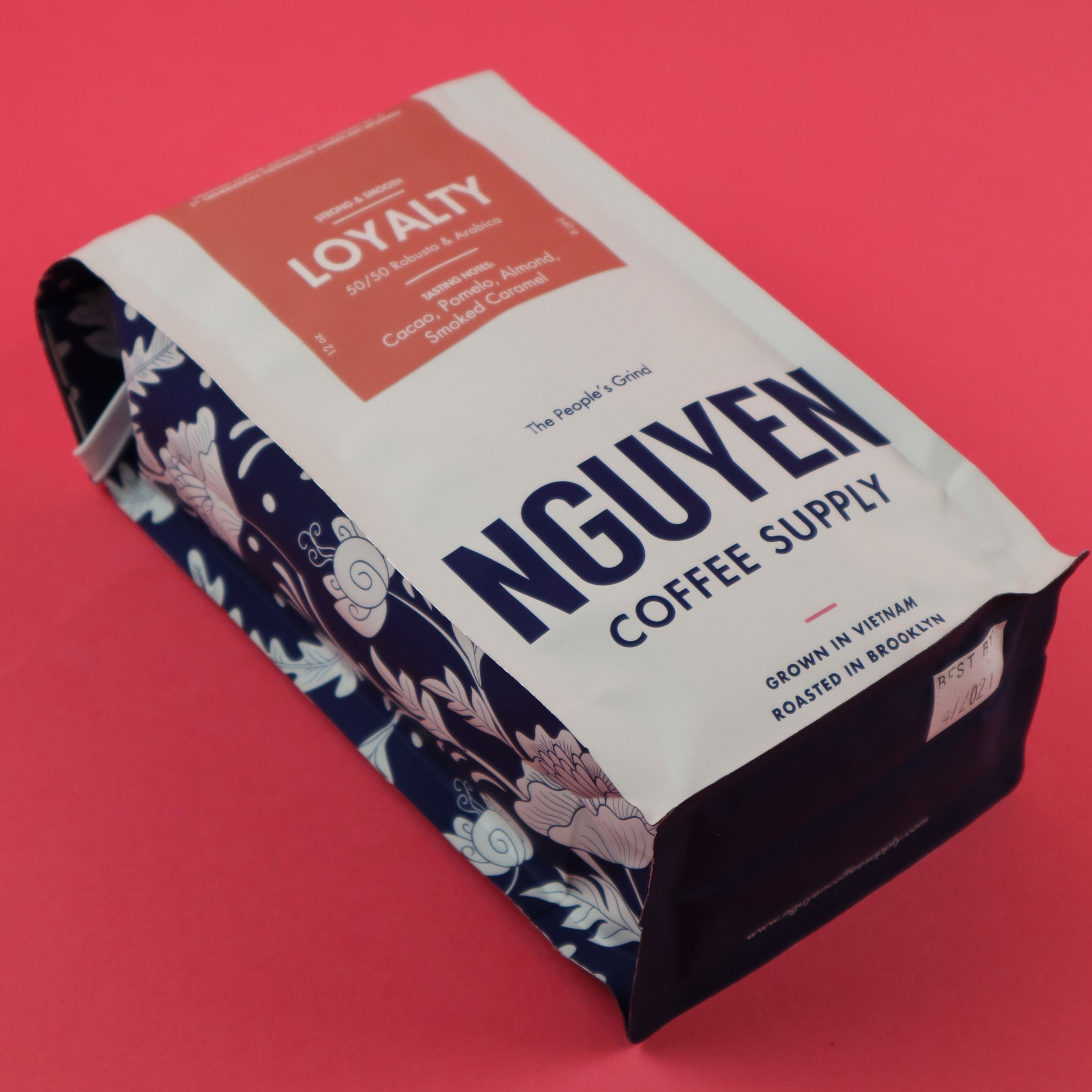 NGUYEN COFFEE SUPPLY LOYALTY BLEND (50/50 ARABICA & ROBUSTA) WHOLE BEANS
