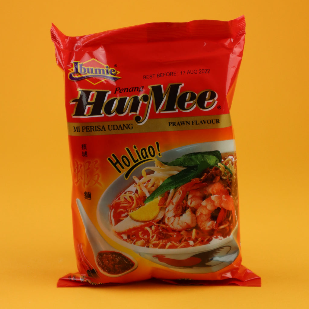 IBUMIE PENANG HARMEE MI PERISA UDANG PRAWN FLAVOUR INSTANT NOODLE