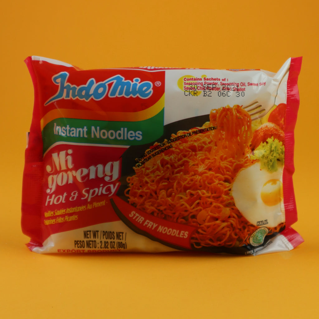 INDOMIE MI GORENG HOT & SPICY FRIED INSTANT NOODLES