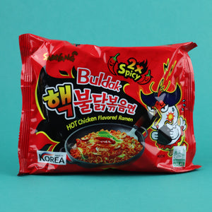 SAMYANG BULDAK 2X SPICY HOT CHICKEN FLAVOR RAMEN
