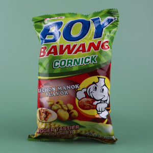 BOY BAWANG CORNICK LECHON MANOK FLAVOR (ROASTED CHICKEN FLAVOR) [3 PACK]