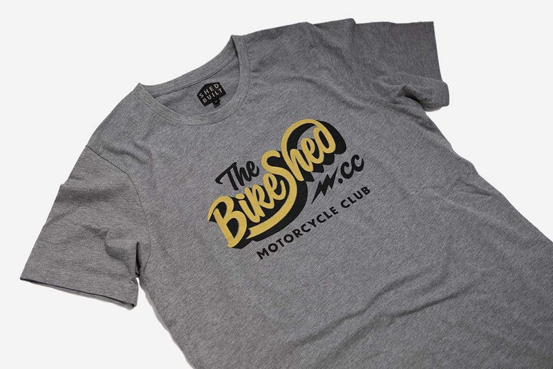 The Bike Shed MC T-shirts BSMC Classic T Shirt - Grey