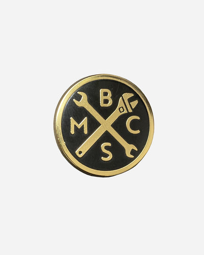 BSMC Spanners Pin - Gold