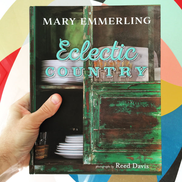 Eclectic Country Hardcover Book