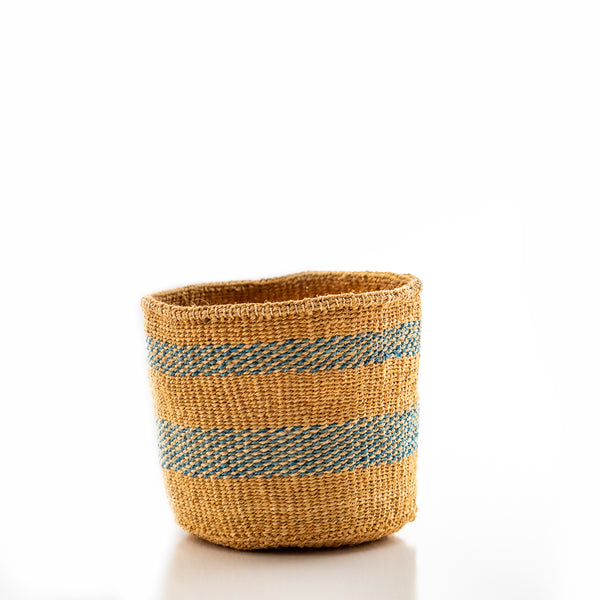 Kasigau Indian Ocean Sisal Basket Small