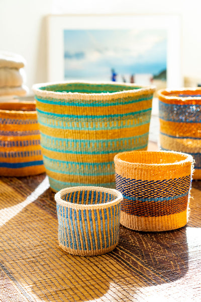 Kasigau Indian Ocean Sisal Basket X-Small_2
