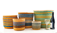 Kasigau Indian Ocean Sisal Basket Medium_2
