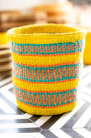 Kasigau Tsavo Sunrise Sisal Basket Small