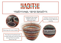 Taita Bright Mix Traditional Basket Large