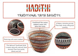 Taita Natural Traditional Basket Small