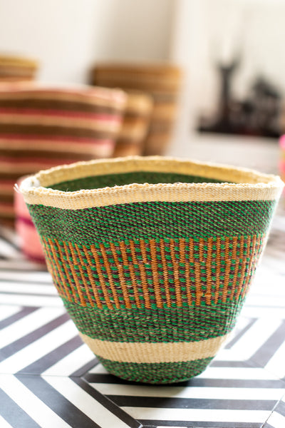 Taita Bright Mix Traditional Basket Medium