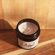 Load image into Gallery viewer, ANGEL Luxury Natural Soy Wax Glass Candle