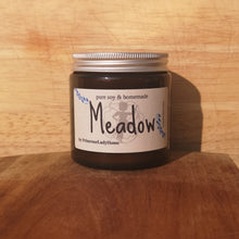 Load image into Gallery viewer, MEADOW Luxury Natural Soy Wax Glass Candle