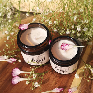 ANGEL Luxury Natural Soy Wax Glass Candle