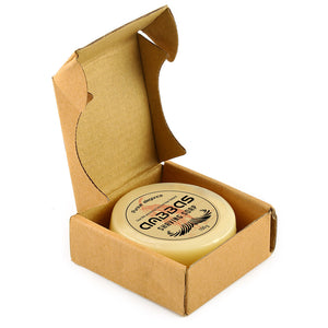 100g Shaving Soap Goat Milk 3.5OZ for Traditional Wet Shave