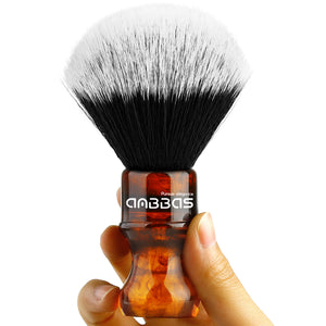 Synthetic Badger Shaving Brush with Traveling Case Tube