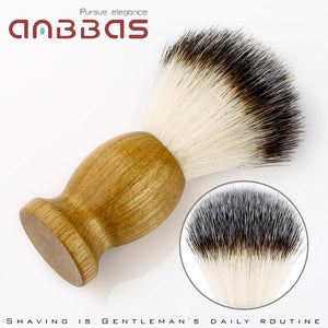 3in1 Vegan Style Shaving Brush with Soap Bar and Bowl