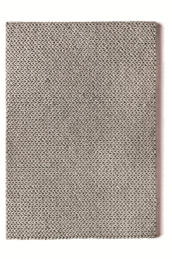 Fusion Modern Wool Rug - Dove Grey
