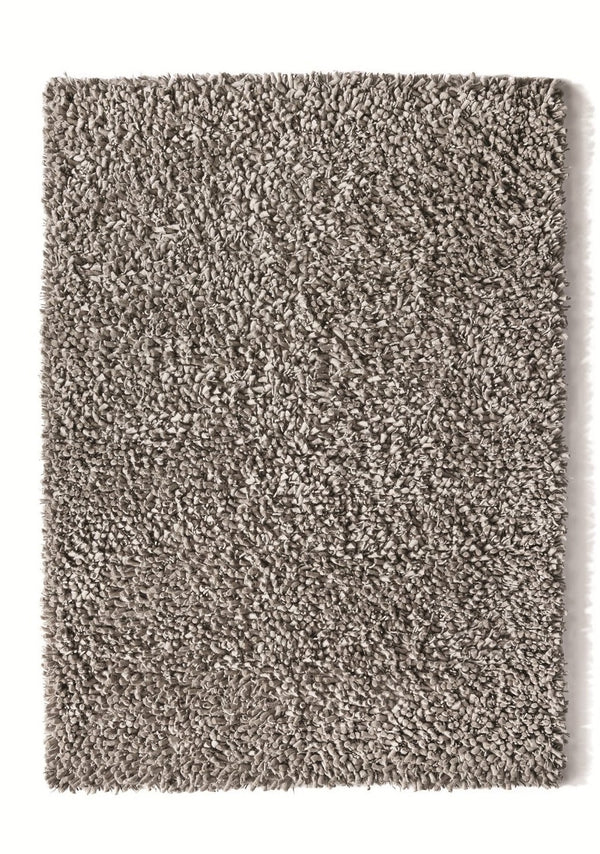 Maine Modern Wool Rug - Dove Grey