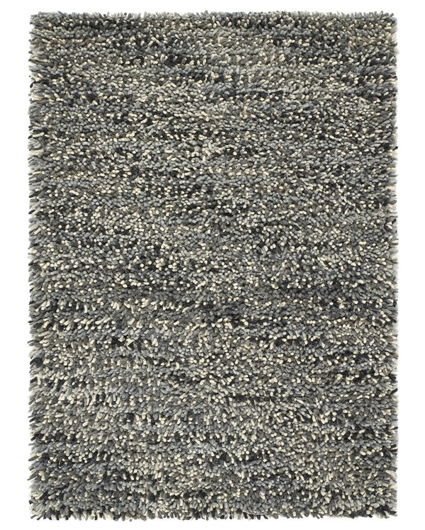 Rocks Shaggy Wool Rug Ì_Ì_̱ Grey
