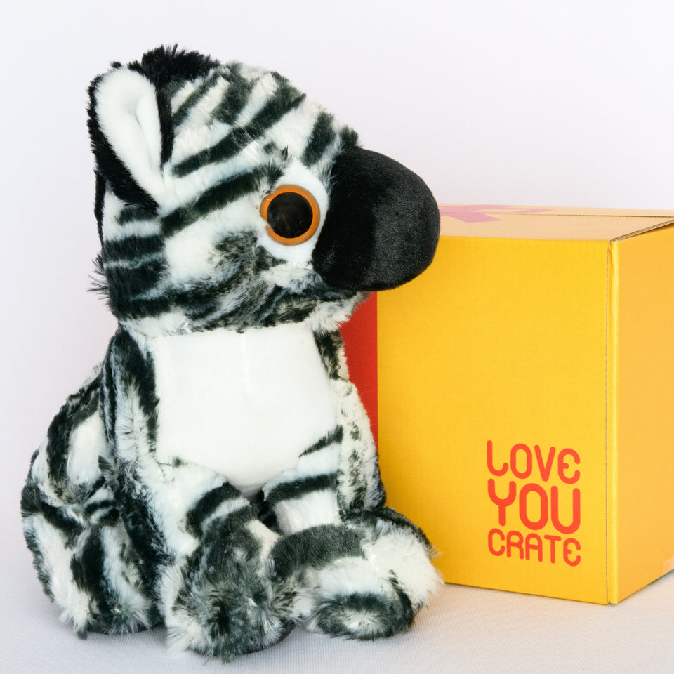 Santiago the Zebra - LoveYouCrate