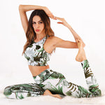 Floral Print Women Yoga Sports Set - PinnacleFitness