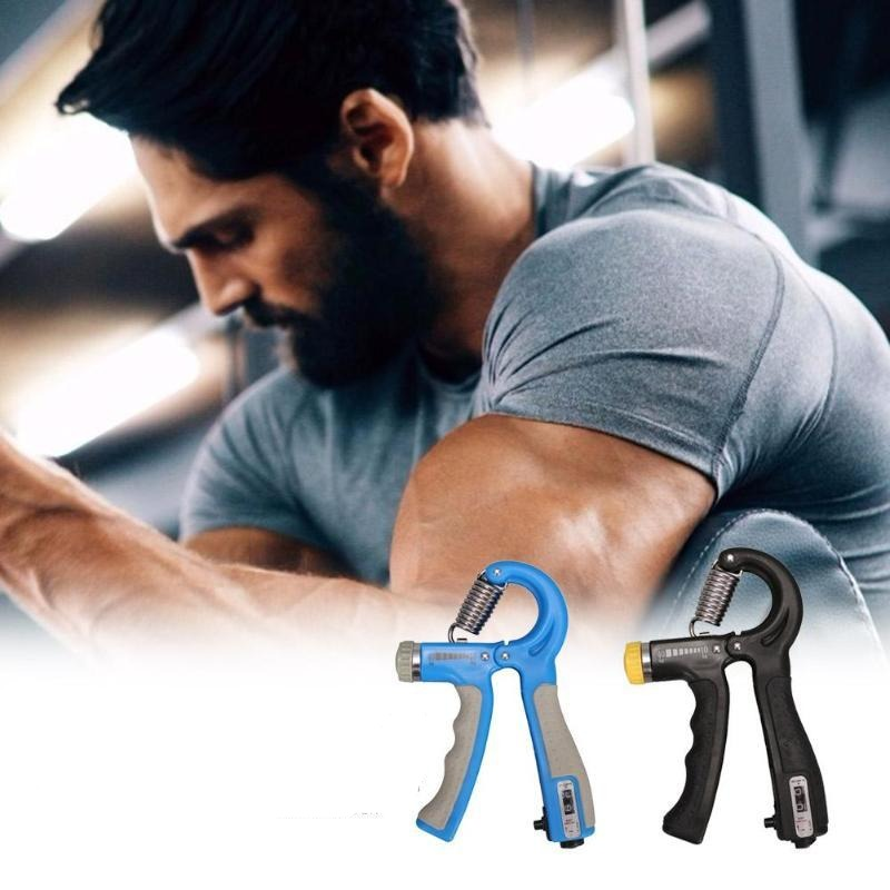R-Shape Adjustable Gym Fitness Hand Grip