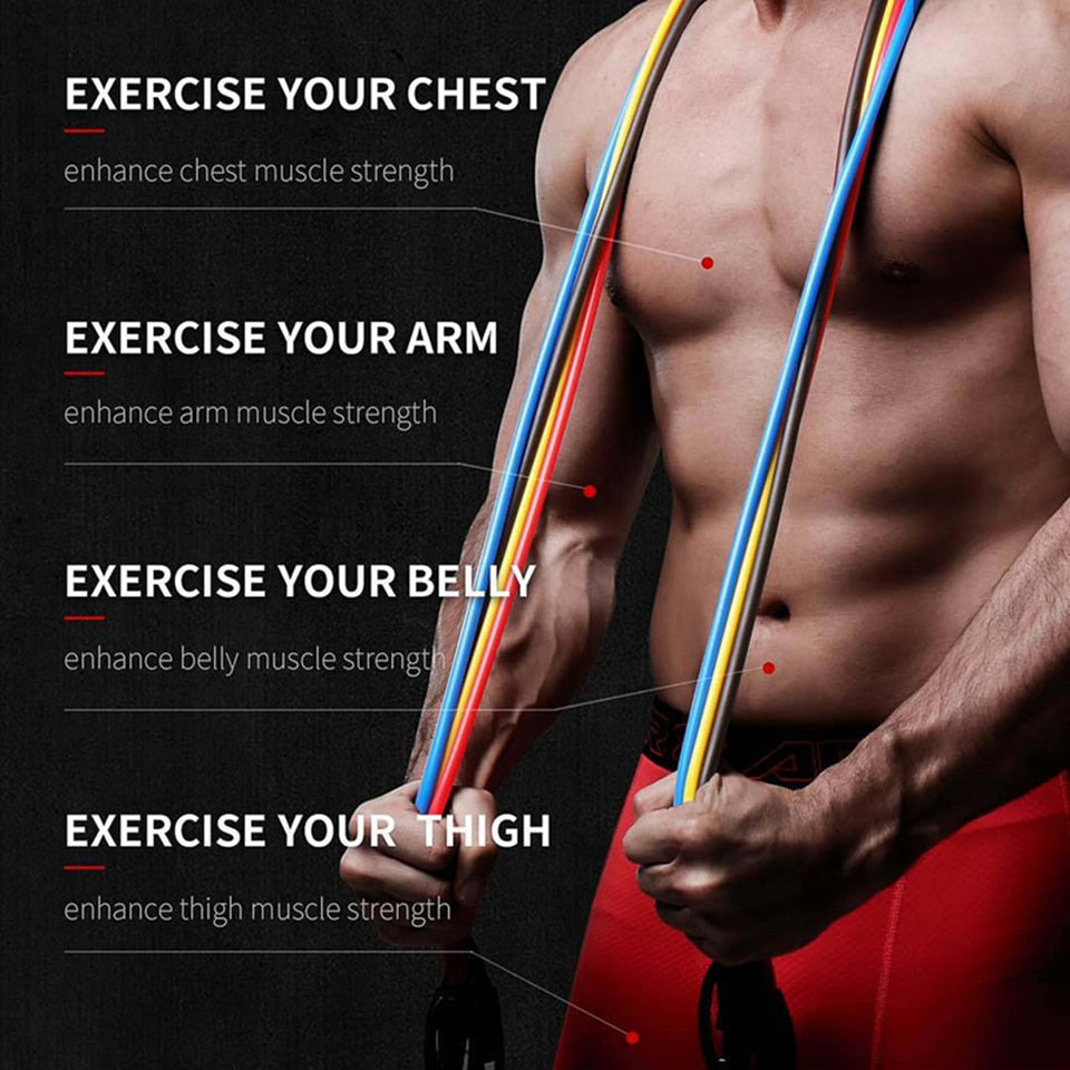 Pull Rope Fitness Resistance Band - PinnacleFitness
