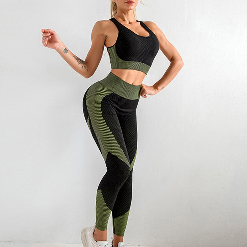 Yoga Bra Suits Women Yoga Set