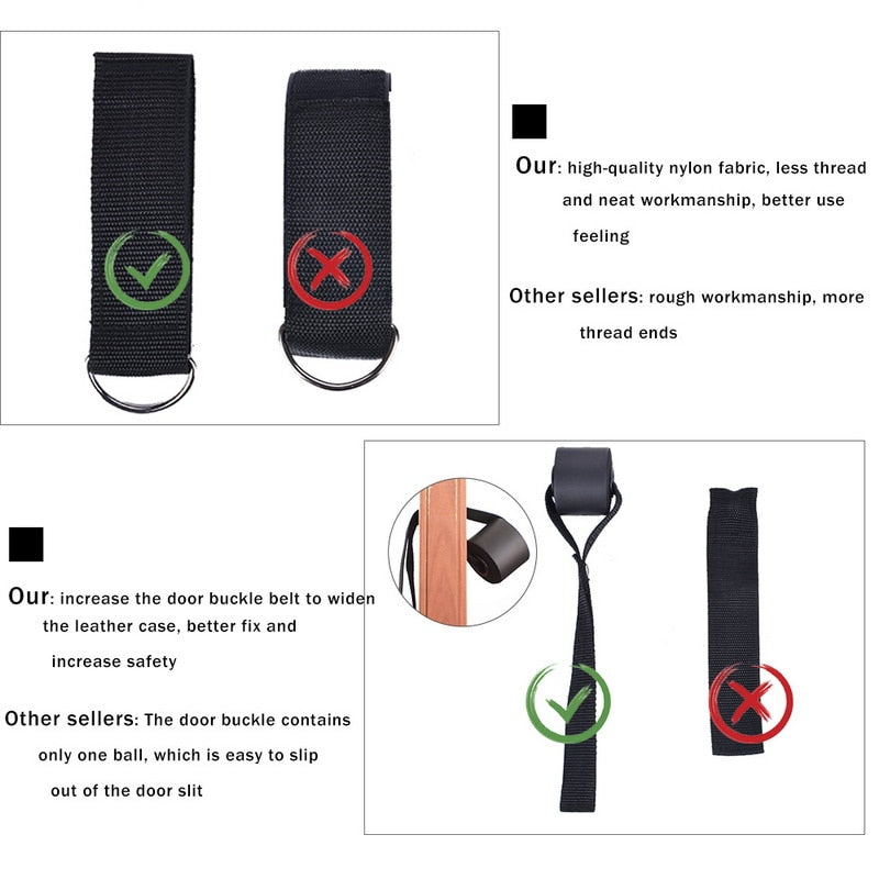 Expander Pull Rope Yoga Band - PinnacleFitness