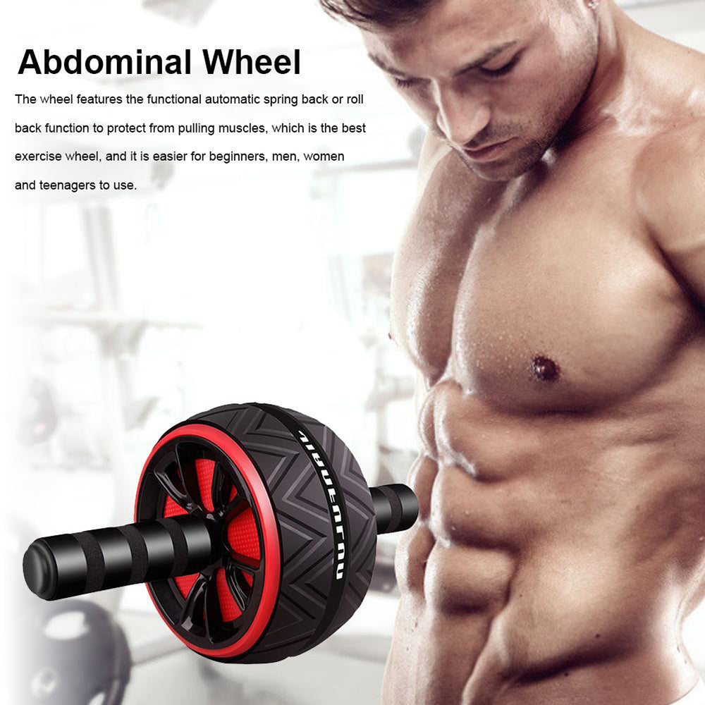 Wheel Abdominal Muscle Trainer For Fitness - PinnacleFitness