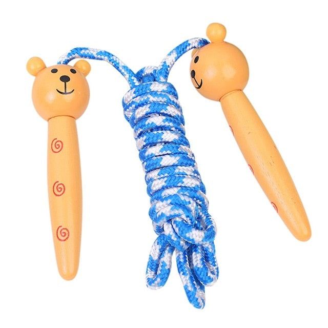Cute Jump Rope Wooden Handle - PinnacleFitness