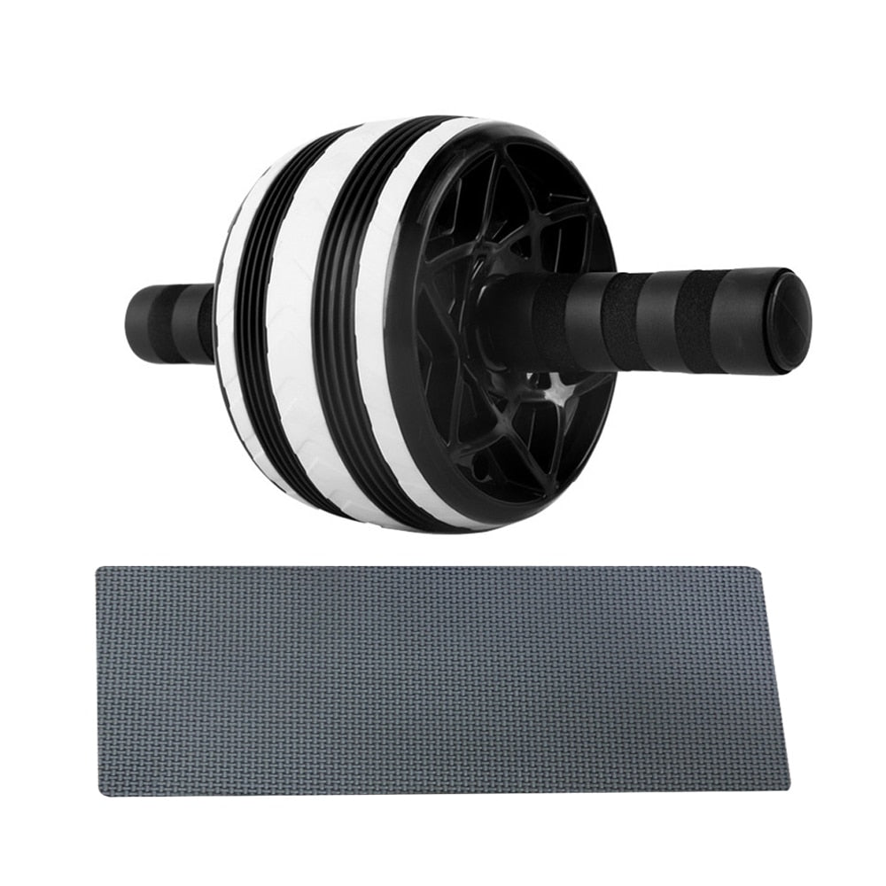 Big Wheel Abdominal Roller Muscle Trainer