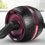 Ab-Roller Big wheel Abdominal Muscle Trainer - PinnacleFitness