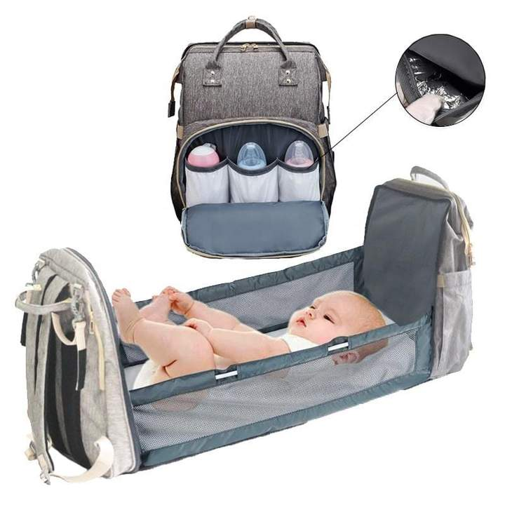 BlueBox™ All-in-One Baby Bag