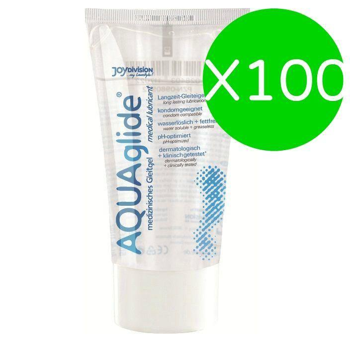 Aquaglide Lubricant 50 Ml (X 100 Uds) - CosmoErotic