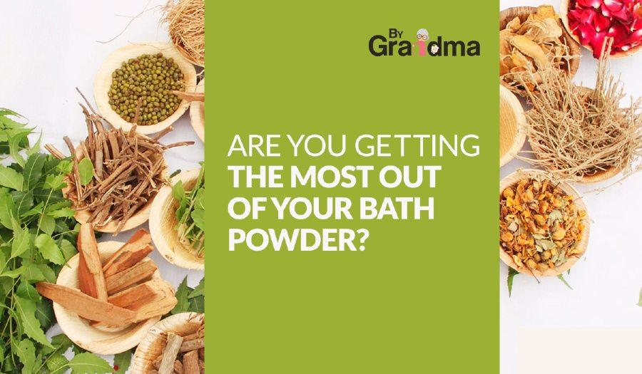 Are You Getting the Most Out of Your Skin Whitening Bath Powder? - ByGrandma