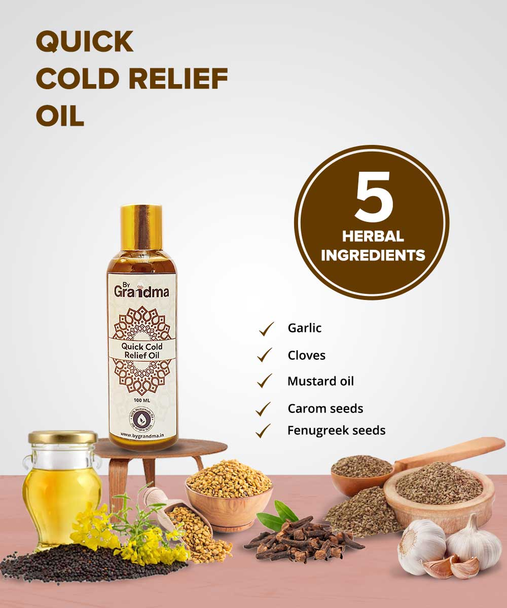 ByGrandma® Quick Cold Relief Oil - ByGrandma