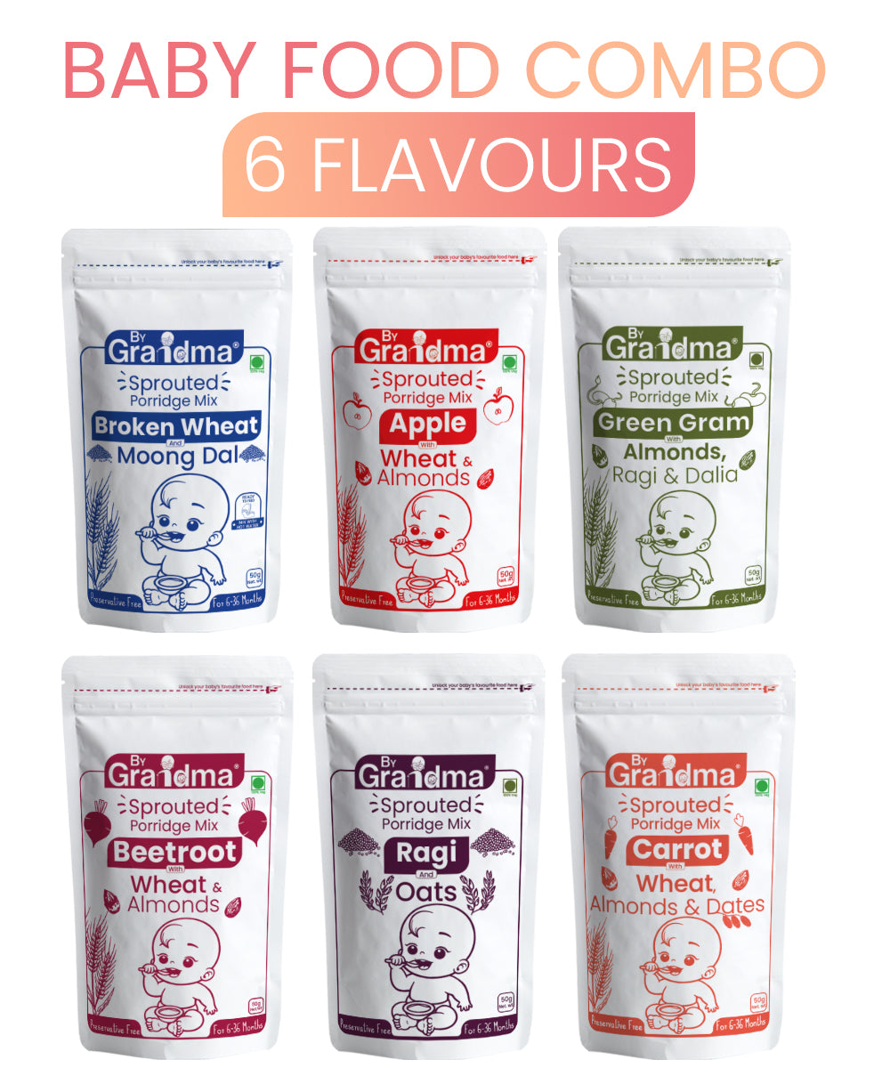 ByGrandma® Combo Porridge Mix for 12+ months - ByGrandma