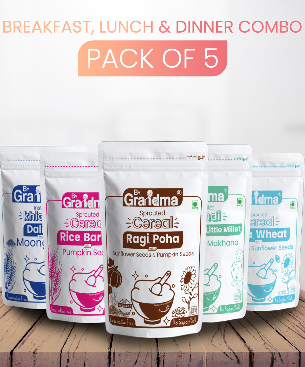 ByGrandma® Breakfast, Lunch and Dinner Combo Baby Food - ByGrandma