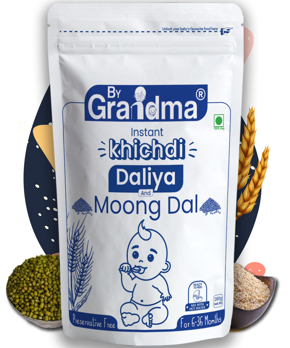 ByGrandma® Broken Wheat and Moong Dal Porridge Mix - ByGrandma