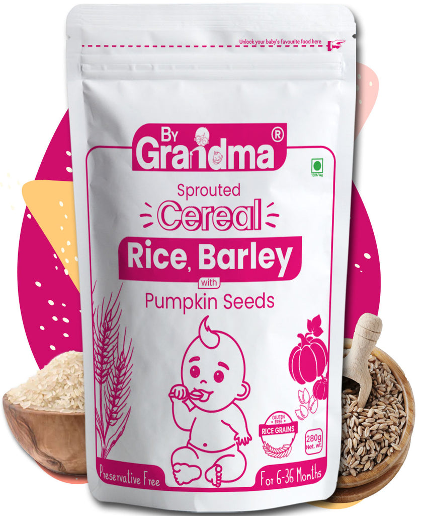 ByGrandma® Rice, Barley & Pumpkin Seeds Porridge Mix - ByGrandma