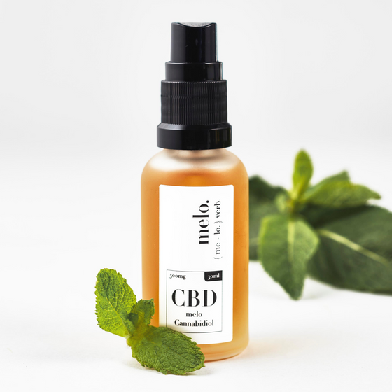 MELO CBD MINT - 500MG - MELO | THE REGEN COMPANY