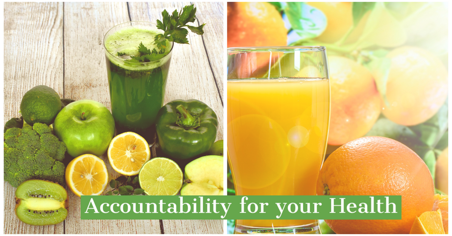 Accountability for your own health!