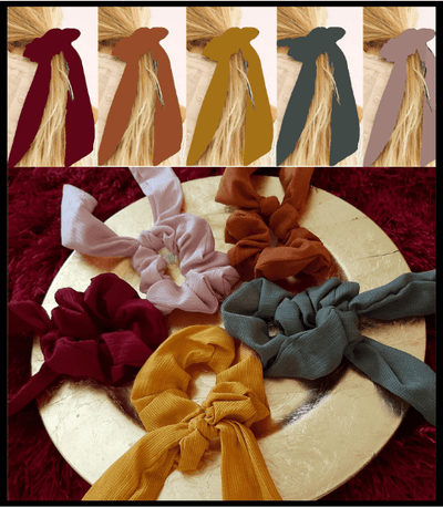 Flower Ribbon ties - NeverLess A1