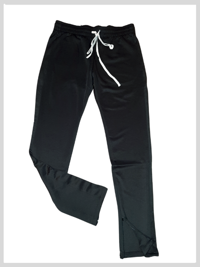 Sleek black trackpants - NeverLess A1