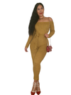Honey Mustard bodysuit - NeverLess A1