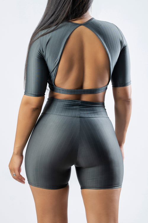 SPORT SHORT SET GRAY