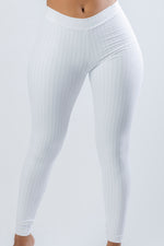 YAMIL WHITE LEGGINGS